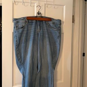 Torrid Flare Jeans Size 22 T Preloved and ready to go